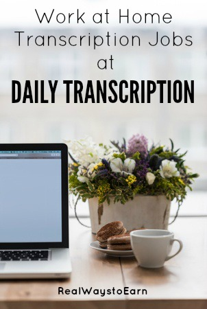 Work at Home as a Transcriber For Daily Transcription
