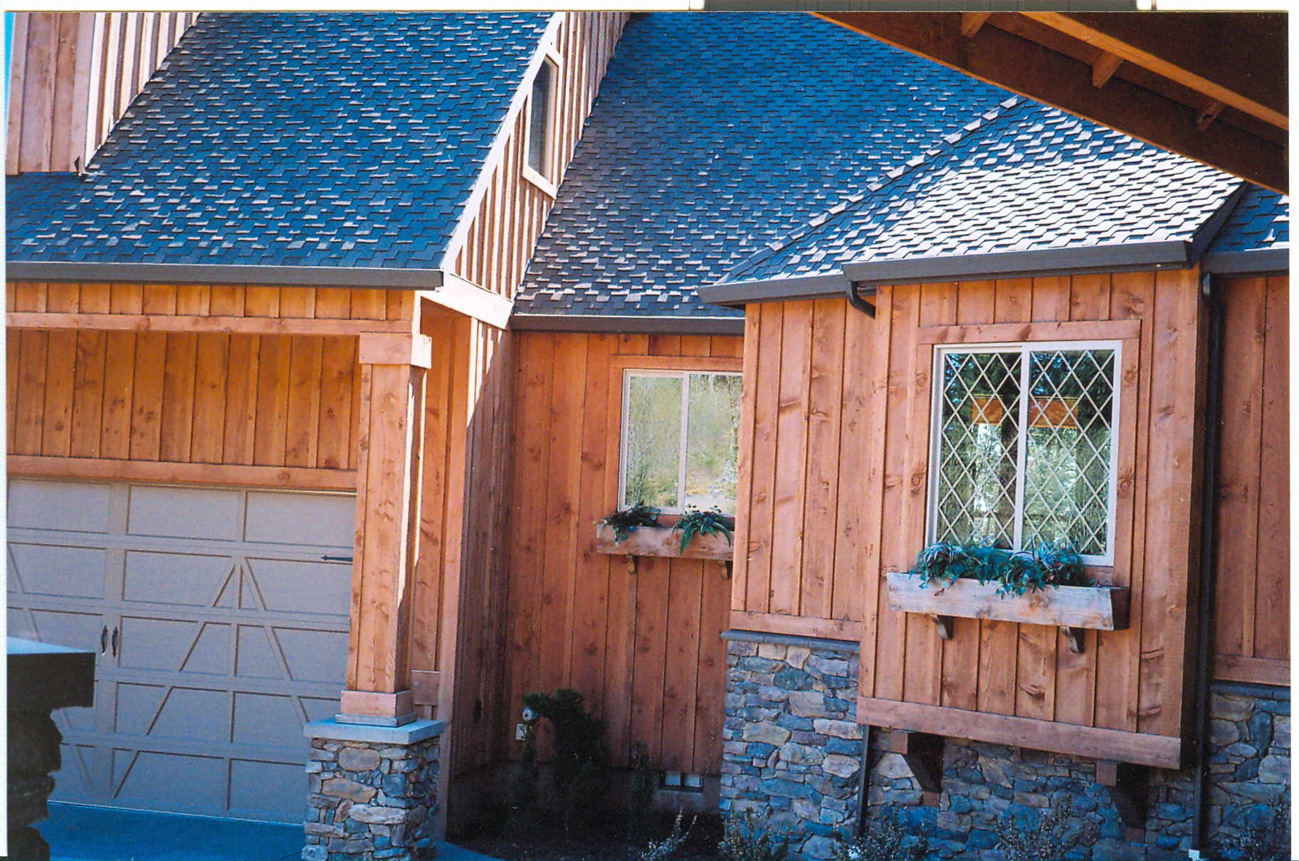 Comely Click Larger Image All Types Vertical Wood Siding Details Vertical Wood Siding Repair This Siding Project Real Wood Siding houzz-02 Vertical Wood Siding