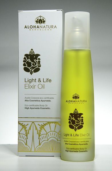 El Light & Life Elixir Oil de Alohanatura Barcelona