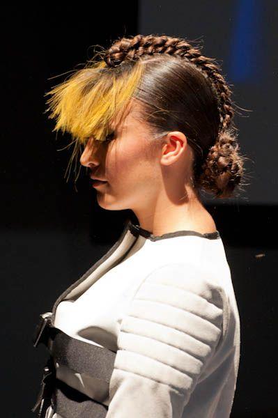 El peinado de hoy: uno de los de editorial de Amparo Carratalá