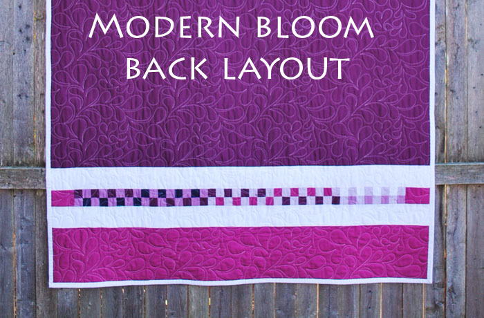 Modern Bloom Quilt