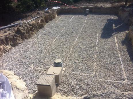 Assainissement individuel filtre à sable