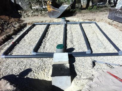 Filtre à sable assainissement individuel