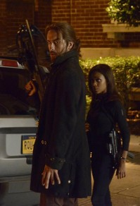Ichabod and Abbie Sleepy Hollow