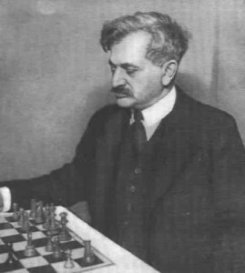 Emanuel Lasker, second World Chess Champion