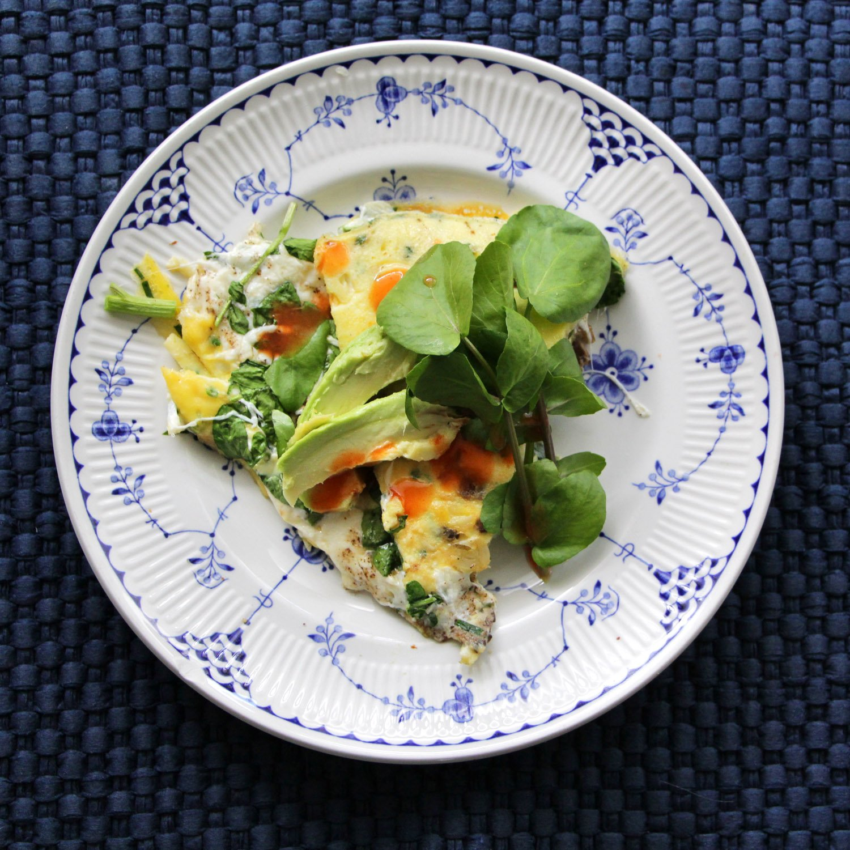 Green Eggs, No Ham- Cast Iron Watercress & Fresh ...