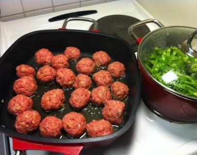 My Swedish meatballs
