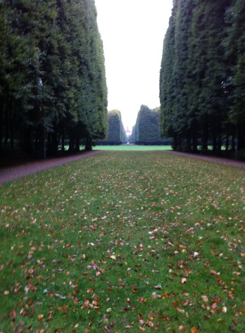 Slottsparken, one of the beautiful Malmö parks in which I rode the Green Princess!