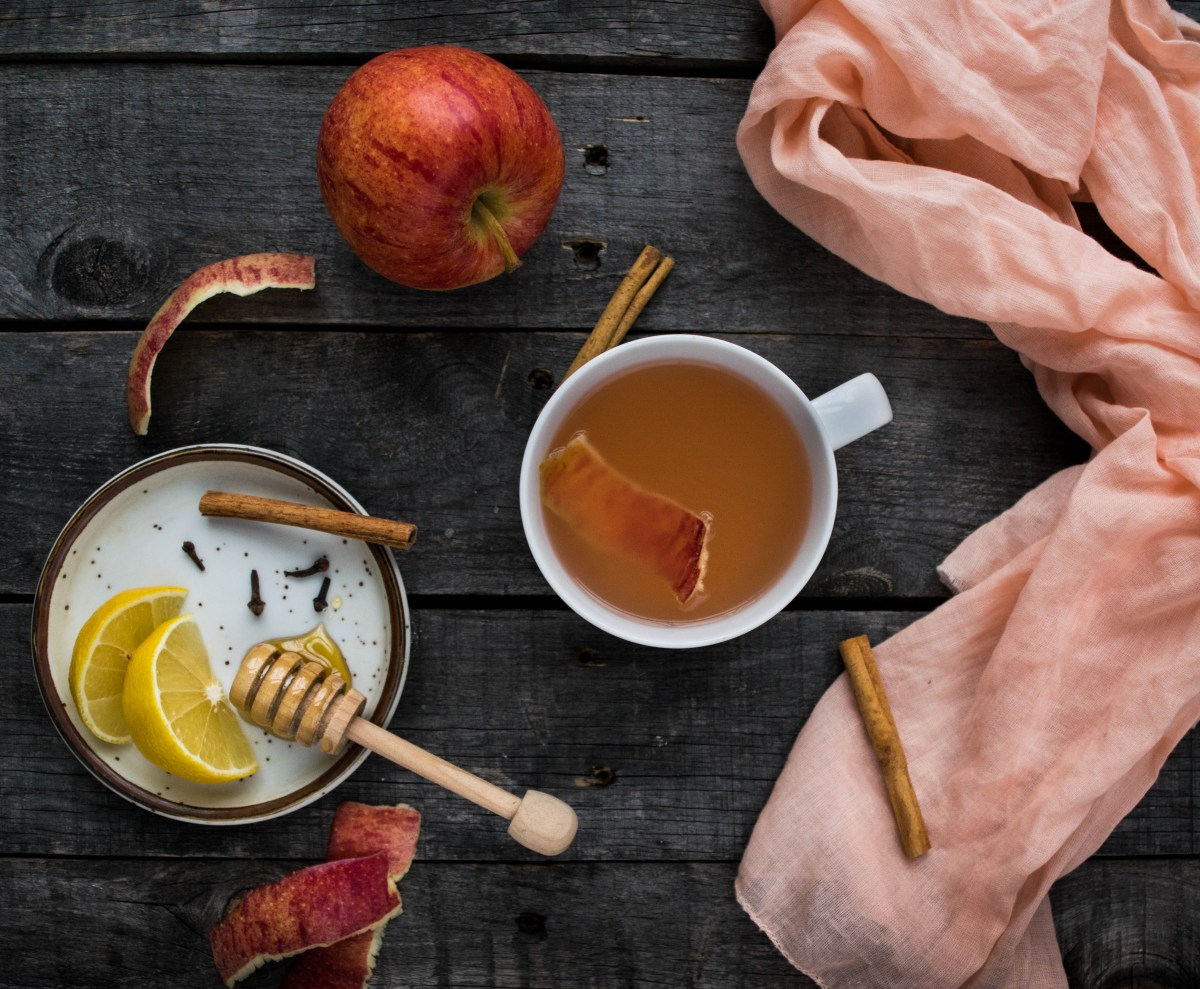 Apple Peel Tea