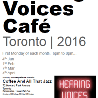 Hearing Voices Cafe - 2016