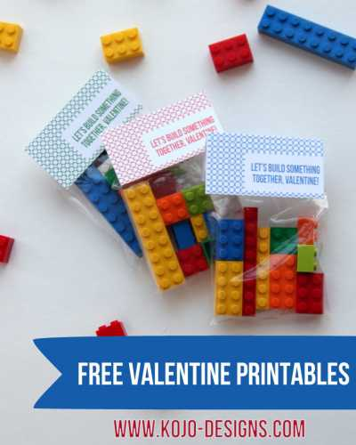 Let S Build A Friendship Valentine