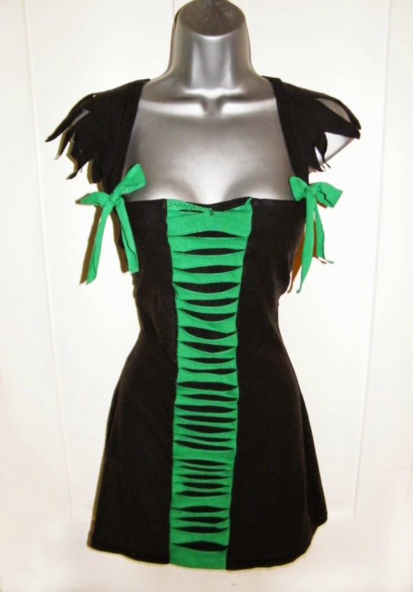 how to make a wicked cute dress from 2 t