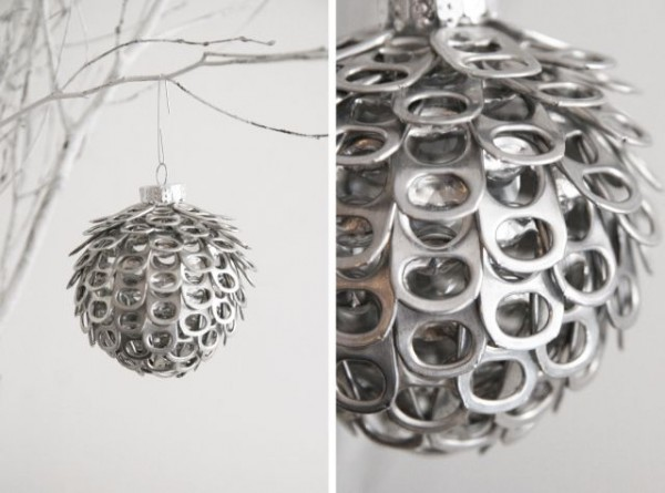 9 handmade ornaments made from recycled items recycled for Recycled decorative items