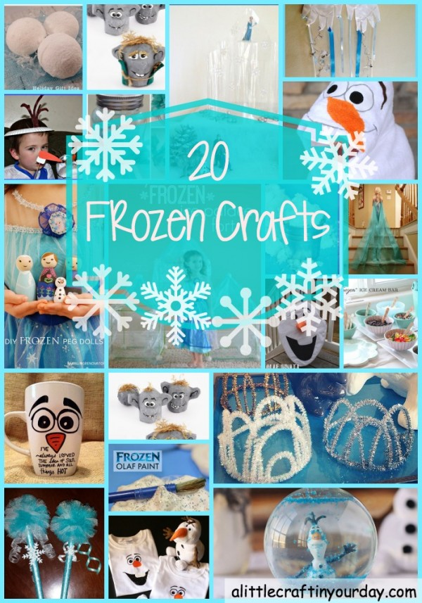 FROZEN craft projects