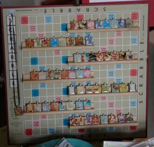 Craft Ideas Using Scrabble Letters