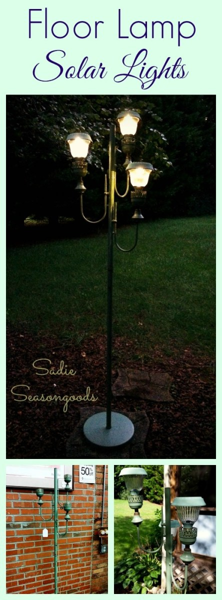 how to make a solar lamp post recycled crafts
