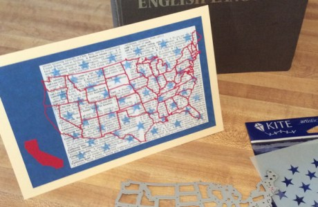 How to make an Election Year Greeting card