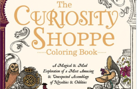 Giveaway- The Curiosity Shoppe Coloring Book