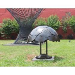 First Spring Decor Yard Art Sculpture By Recycled Salvage Design Spring Decor Yard Art Sculpture By Recycled Salvage Design Raymond Metal Yard Art Iowa Metal Yard Art Cactus