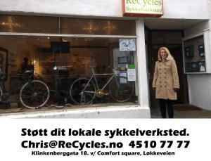 Støtt ditt lokale sykkelverksted