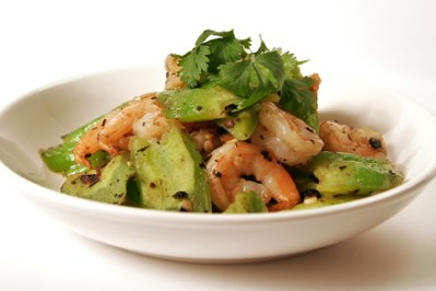 Stir-fry Shrimp and Bitter Melon