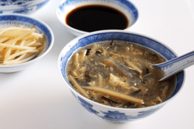 Vegetarian Shark Fin Soup