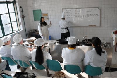 Cooking School in China