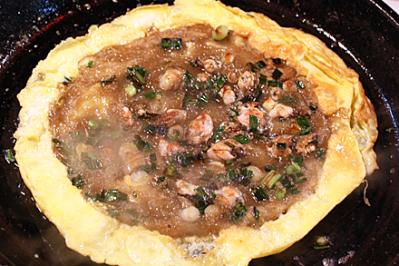 Oyster Omelet