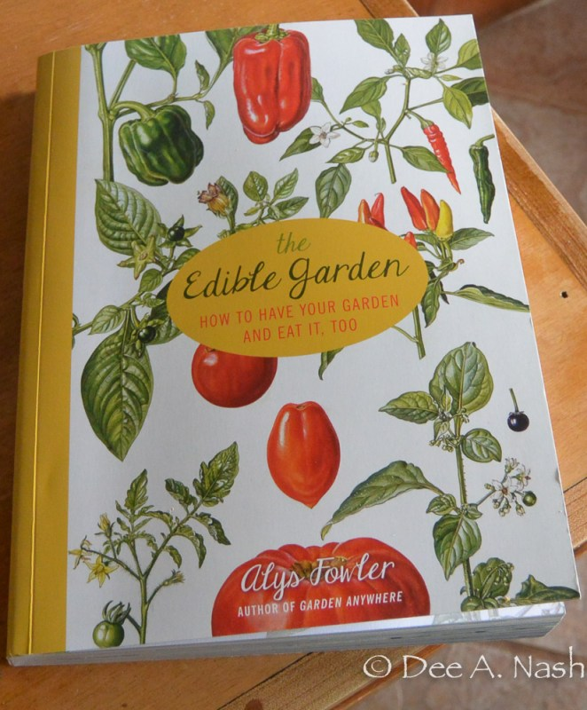 The Edible Garden with a pretty hand-drawn cover which makes it different from other titles.