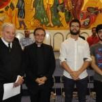 Kiko, le père Thomas, Etienne et Stefano