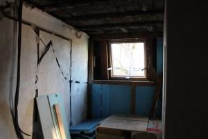 Fenêtre évacuation de fumée, 2ème étage (intérieur)