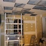 Faux plafond de la cuisine