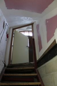 Escalier cave bâtiment D