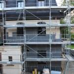 Isolation de la façade bâtiment D