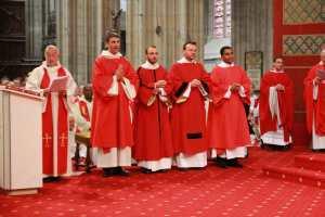 Ordination diaconale de Stefano pour le diocèse d'Orléans (2013)