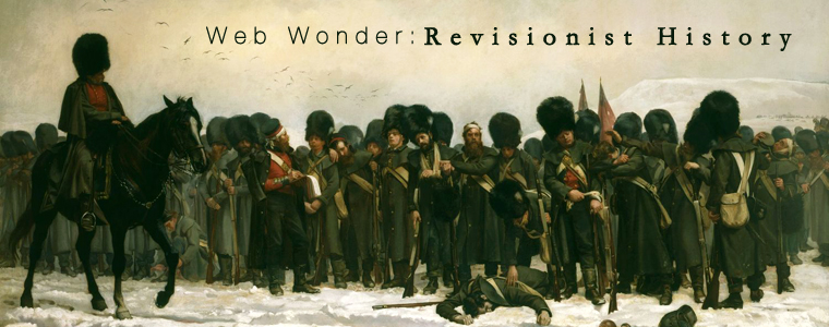 Web Wonder: Revisionist History