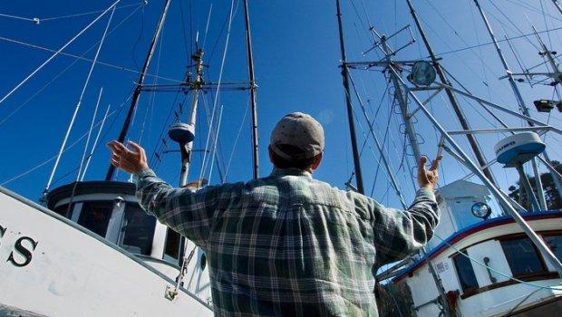 salmon fisherman