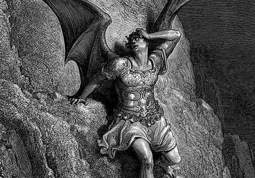 Satan  by Gustav Dore