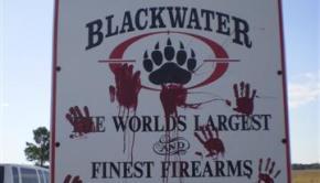 Blackwater Sign