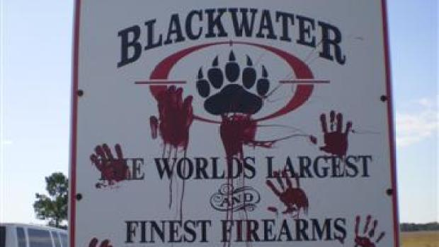 Blackwater Sign
