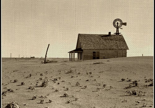 dust-bowl-1936-kansas-windmill