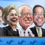democratic debate candidates