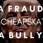 Elizabeth Warren calls Donald Trump a Fraud, a cheapskate and a bully