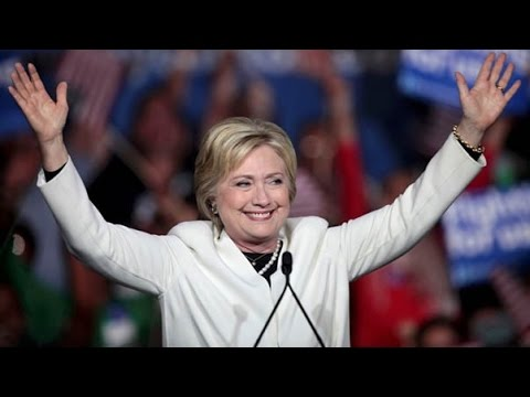 Watch Hillary Clinton's victory speech on winning the Democratic nomination for President (full video and text)