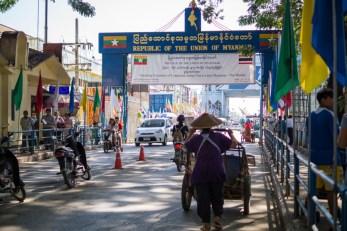 Most łączący Mae Sai i Tachileik
