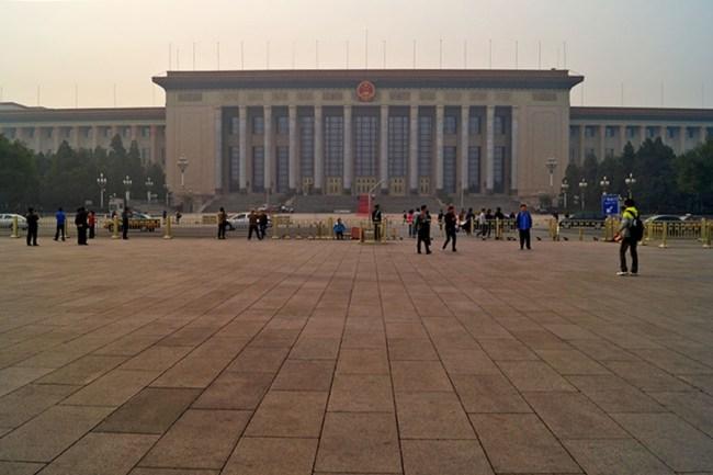 Wielka Hala Ludowa przy placu Tiananmen, mają swoją, a co!