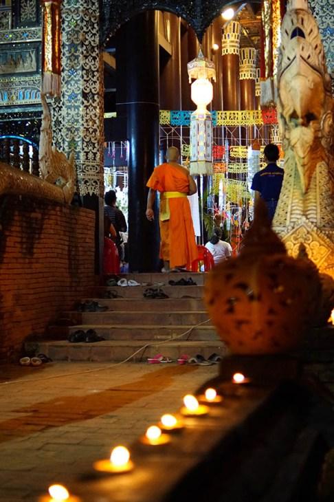Loy Krathong to przede wszystkim święto religijne...