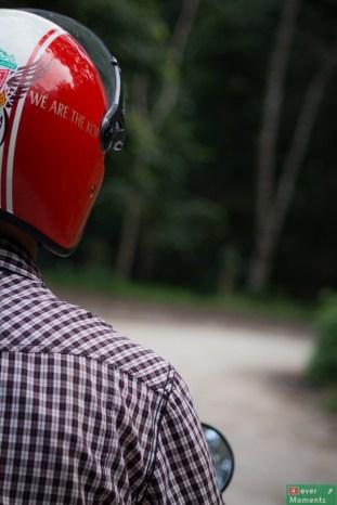 Na wycieczkę najlepiej wybrać się skuterem (nie polecam roweru, chyba, że ktoś trenuje kolarstwo wysokogórskie)
