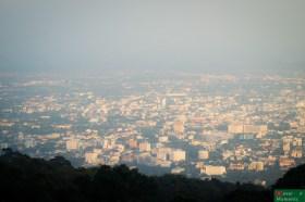 ...i panoramę Chiang Mai :)
