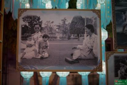 Uroczystości towarzyszły liczne imprezy, w tym wystawa fotografii z życia króla.